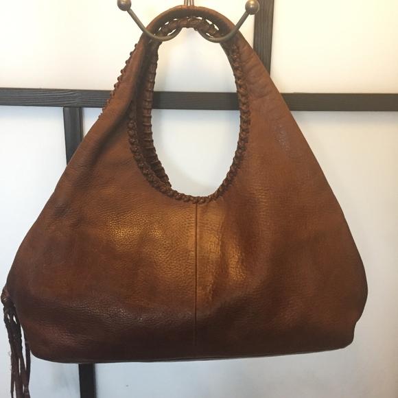 Banana Republic Soft Leather Handbag Brown 72708e21c4360